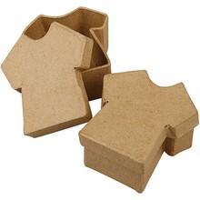 Objekten zum Dekorieren / objects for decorating 1 caja, camiseta, tamaño 8x7 cm