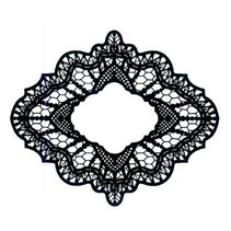 Rubber stamp, Creative Expressions, Delicate Lace (Lace)
