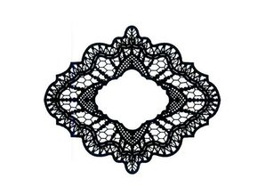 Creative Expressions Rubber stamp, Creative Expressions, Delicate Lace (Lace)