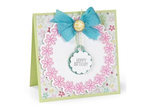 Sizzix Framelits + punch, Circles & Tags