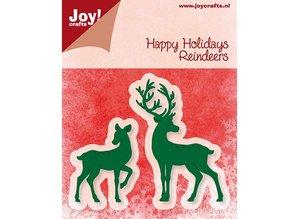Joy!Crafts und JM Creation Joy Crafts, stamping and embossing folder, reindeer