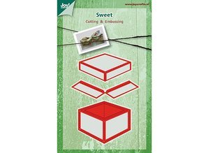 Joy!Crafts und JM Creation Joy Crafts, punching and embossing template box