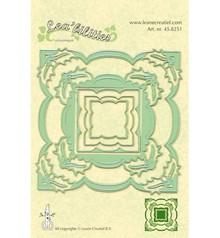 Leane Creatief - Lea'bilities Stampaggio e goffratura stencil, stencil Multi