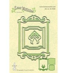 Leane Creatief - Lea'bilities Stamping and embossing stencils, stencil Multi, Frames rectangle
