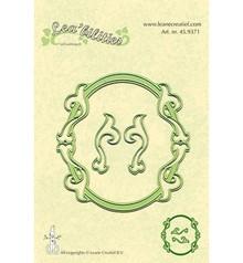 Leane Creatief - Lea'bilities Stampaggio e goffratura stencil, stencil Multi, cornici ovali