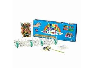 Komplett Sets / Kits Loom bands Starter Set, opaque, 528 parts