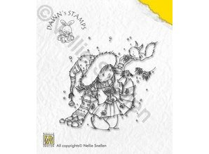 Nellie snellen Nellie Snellen Clear stamps, jul Scene