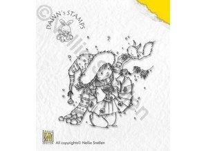 Nellie snellen Nellie Snellen, Transparent Stempel, Weihnachtsmotiv