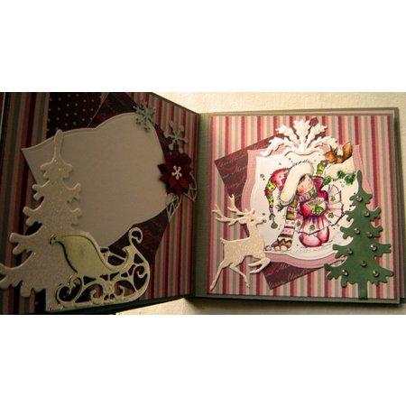 Nellie snellen Nellie Snellen claros sellos, Escena de Navidad