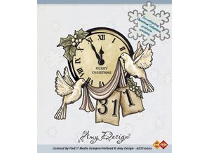 Amy Design Amy Design, Clear stamps, jul Scene
