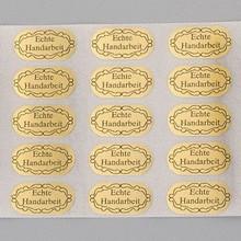 Embellishments / Verzierungen 20 etichette adesive, artigianale