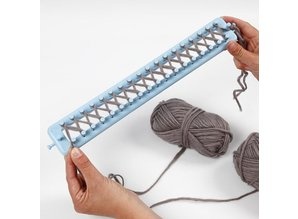 BASTELZUBEHÖR / CRAFT ACCESSORIES Last offer: knitting frame, L: 25-35-45-55 cm, 1 set