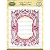 Etiquetas Justrite Shabby Chic Cling Set sello