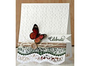 Spellbinders und Rayher Spellbinders Spellbinders, A set of seven cutting and embossing stencils, borders