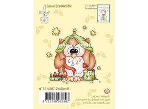 Leane Creatief - Lea'bilities Clear stamps owl