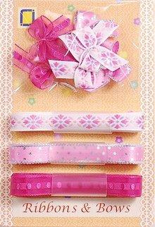 DEKOBAND / RIBBONS / RUBANS ... Indsamling: Ribbon og Typ af slibning, pinks