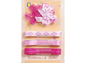 DEKOBAND / RIBBONS / RUBANS ... Collection: Ribbon and Typ of grinding, pinks