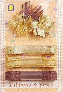 DEKOBAND / RIBBONS / RUBANS ... Collezione: Ribbon e Tipo di macinazione sfumature di marrone,