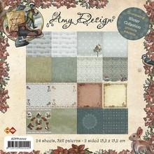 DESIGNER BLÖCKE  / DESIGNER PAPER Collezione inverno - blocco di carta, 15,24 x 15,24 centimetri