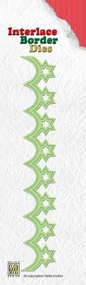 Nellie snellen Stamping and embossing stencils, bordure star
