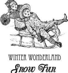 Marianne Design Rubber stamp Warm Winter Wishes