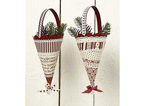 Komplett Sets / Kits Kegle med Henkel, H: 13 cm, 20 stykker