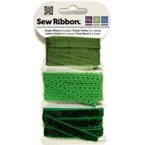 Ribbon Assortment greens