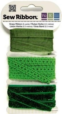 DEKOBAND / RIBBONS / RUBANS ... Ribbon Assortment greens