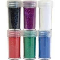 Samtpulver, 6 verschiedene Farbe
