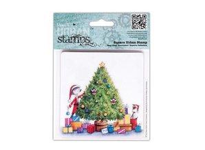Docrafts / Papermania / Urban Gummi Stempel, Papermania Urban Stamp, Perfect Partner, 10cm - Copy