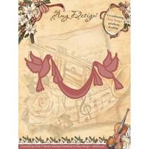 Diseño de Amy, plantillas de corte y estampación de troqueles, 2 Dove