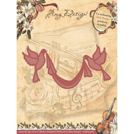Amy Design Amy design, die cutting and embossing templates, 2 Dove