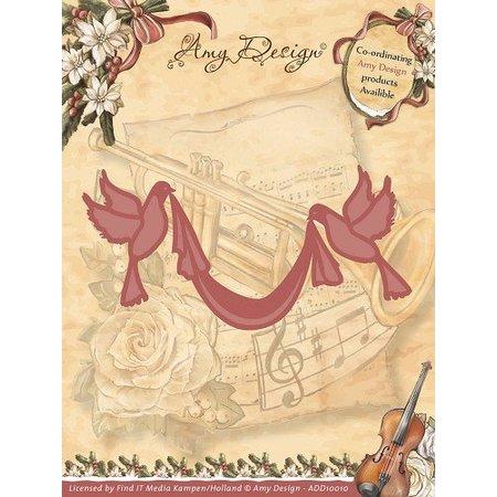 Amy Design Amy design, udstansning og prægning skabeloner, 2 Dove
