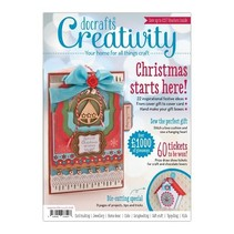 Craft magazine Creativity Magazine - Issue 50 - September 2014 + Extra's for crafting