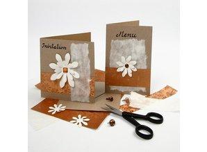 KARTEN und Zubehör / Cards 10 kort og konvolutter, kraftpapir
