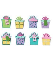 Sizzix Estampación y embutición stencils, Triplits, regalos