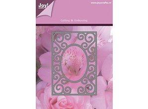 Joy!Crafts und JM Creation Estampación y embutición plantillas, marco rectangular