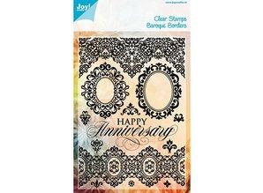 Joy!Crafts und JM Creation Clear stamps, barok Grænser