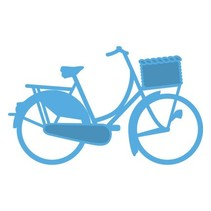 Snij en embossing stencils, fiets