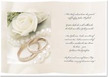 Pronty 5 Transparentpapiere, Bogen A5, Gedichte Goldenen Hochzeit