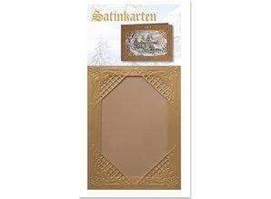 KARTEN und Zubehör / Cards 3 carte oro Inverno raso