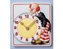 GIESSFORM / MOLDS ACCESOIRES Molde, payaso reloj, 15,5 x 17 cm, con mecanismo y punteros