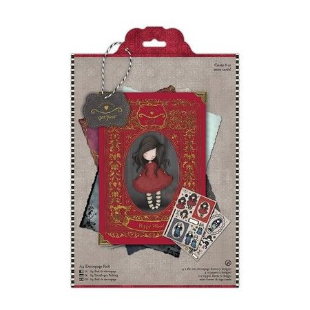 Gorjuss / Santoro Craft Kit: Decoupage for at designe smukke kort, Simply Gorjuss