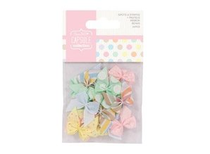 Embellishments / Verzierungen 20 Mini Schleifchen, Ribbon Bows (20pcs)