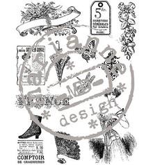 Stempel / Stamp: Transparent Clear stamps, Victorian Vintage