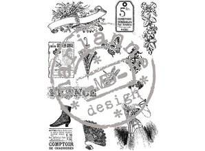 Stempel / Stamp: Transparent Clear stamps, Victorian Vintage