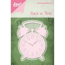 Cutting and embossing stencils Alarm Clock