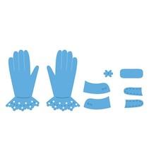 Marianne Design, Stanz- und Prägeschablone, Tiny's Gloves