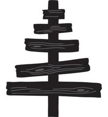 Marianne Design Marianne Design, stampaggio e goffratura stencil, craftabili - albero di legno di Eline