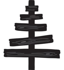 Marianne Design Marianne Design, Stanz- und Prägeschablone, Craftables - Eline's Wooden tree